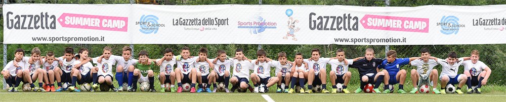 SPORT-SCHOOL/SPORTPROMOTION/GAZETTA SUMMERCAMP